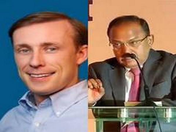 US National Security Advisor Jake Sullivan and Indian National Security Advisor Ajit Doval (File Photo)