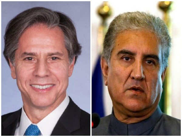 US Secretary of State Antony Blinken on Friday spoke with Pakistani counterpart Shah Mahmood Qureshi on Friday.