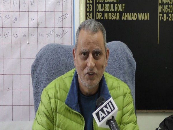 Dr. Nissar Ahmad Wani, Medical Superintendent, district hospital, Handwara, Kupwara district.