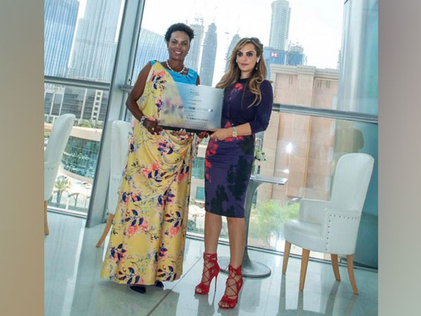 Dr Rasha Kelej, CEO of Merck Foundation & President, Merck More Than a Mother during her meeting with Angeline Ndayishimiye, The First Lady of Burundi and Ambassador of Merck More Than a Mother