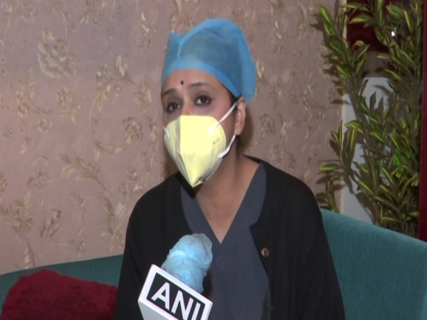 Genestrings Labs co-director Dr Gauri Agarwal speaking to ANI in New Delhi on Tuesday [Photo/ANI]