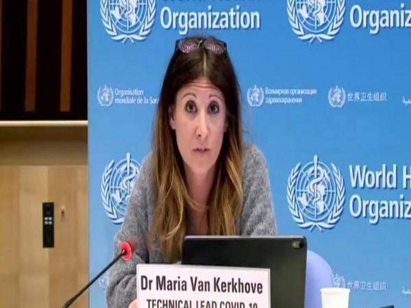 Dr Maria Van Kerkhove, Technical lead COVID-19 at WHO