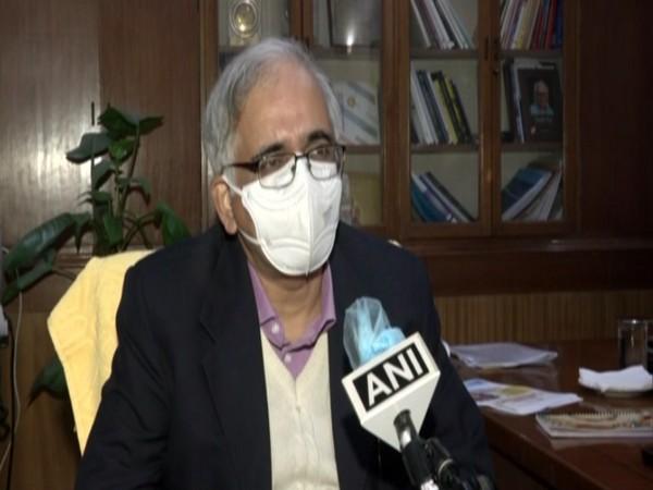 CSIR DG Dr Shekhar Mande speaking to ANI in New Delhi on Tuesday [Photo/ANI]