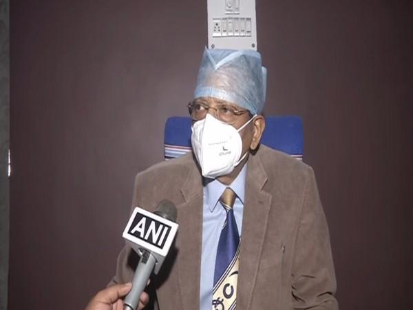 e physician of jailed RJD chief Lalu Prasad Yadav, Dr Umesh Prasad speaking to ANI in New Delhi on Saturday [Photo/ANI]