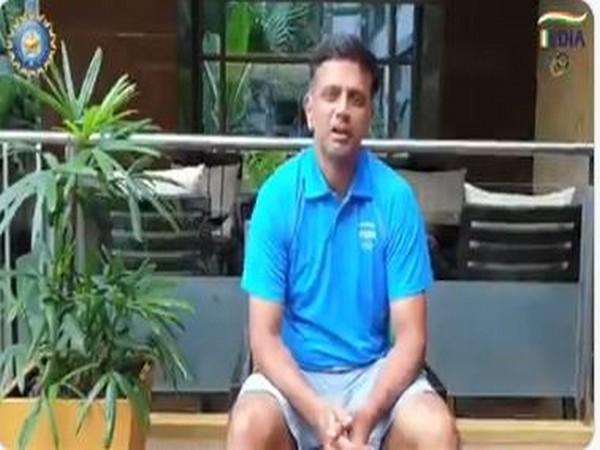 Former India skipper Rahul Dravid (Photo/ BCCI Twitter)