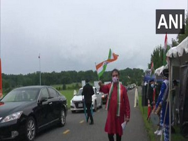 Indian diaspora in US celebrated 74th Independence Day in the suburbs of Washington Metro.