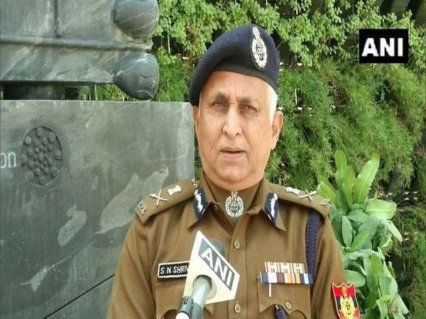 Delhi Police Commissioner S N Srivastava speaks to ANI (Photo/ANI)