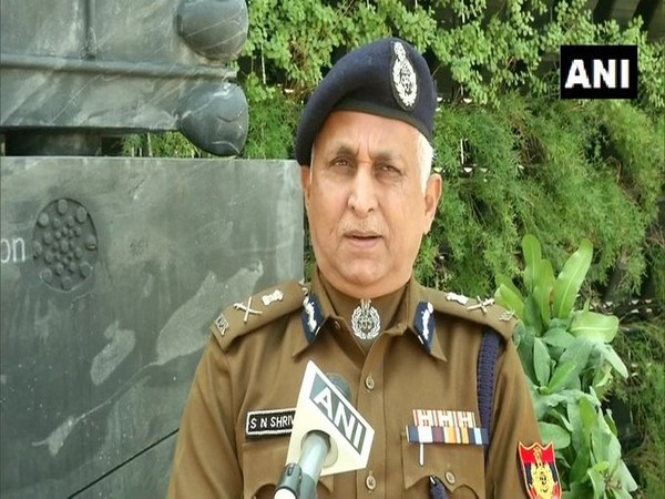 Delhi Police Commissioner SN Srivastava (File photo)
