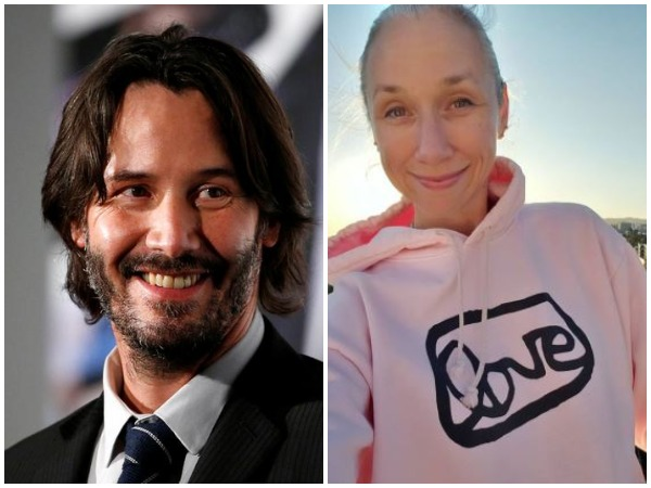 Keanu Reeves and Alexandra Grant (Image courtesy: Instagram)