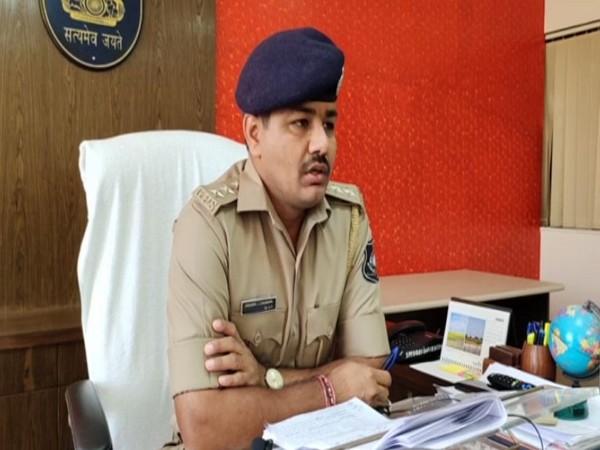 Hirendra Chaudhary, Deputy Superintendent of Police, Devbhoomi Dwarka (Photo/ANI)