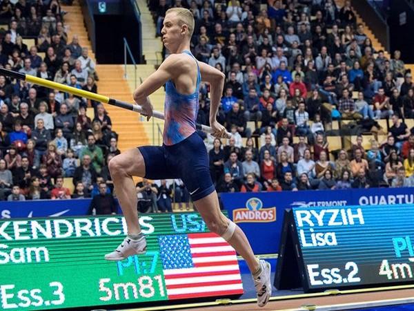 Sam Kendricks (Photo: Twitter/World Athletics)
