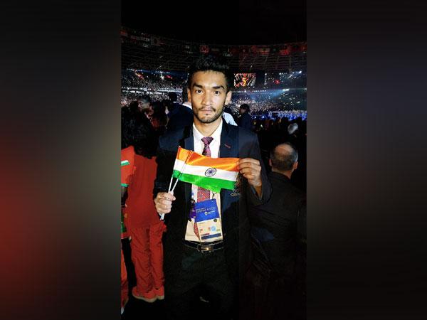 India's boxer Shiva Thapa, who could not win any medal. ( Courtesy- Shiva Thapa Twitter)