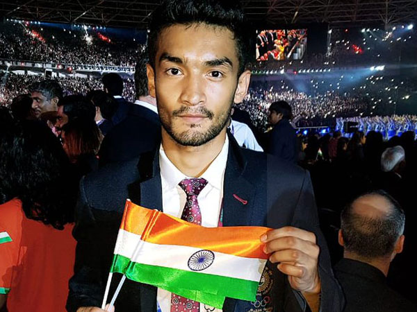 Indian Boxer Shiva Thapa (Courtesy- Shiva Thapa Twitter)