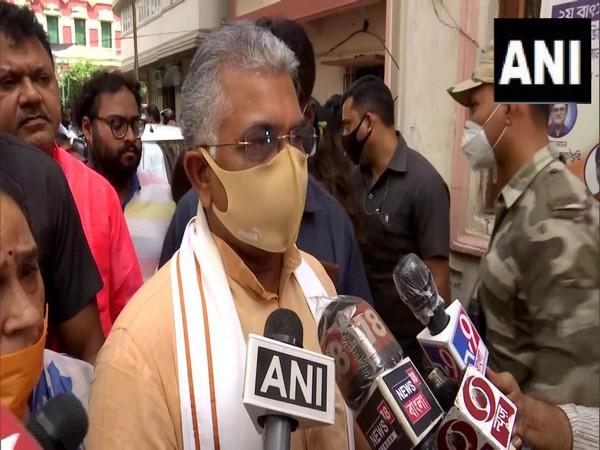 West Bengal Bharatiya Janata Party chief Dilip Ghosh