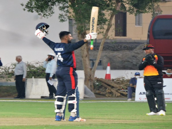 USA batsman Jaskaran Malhotra (Image: USA Cricket)