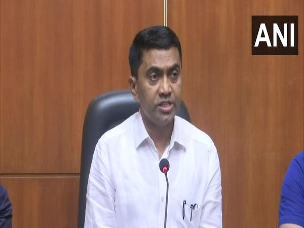 Goa Chief Minister Pramod Sawant. [File Photo/ANI]