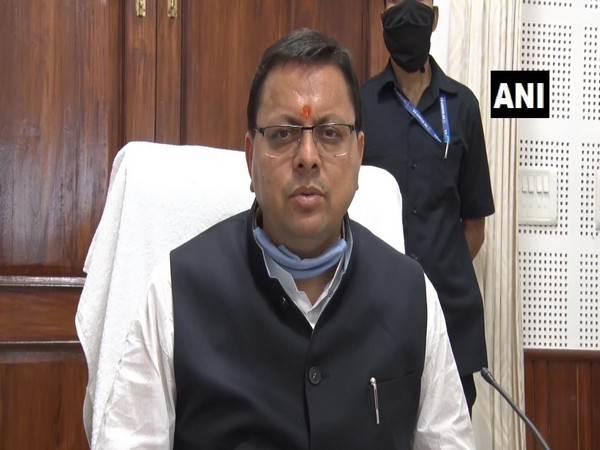 U'khand: CM Dhami announces ex-gratia of Rs 50000 to kin of deceased due to COVID-19