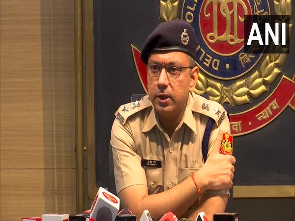 Anyesh Roy, DCP, Delhi Police Cyber Cell. (Photo/ANI)