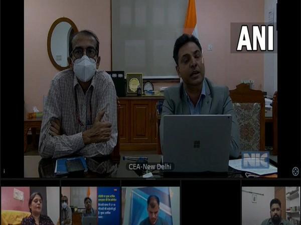 Chief Economic Advisor Krishnamurthy Subramanian briefing the media on Tuesday. [Photo/ANI]