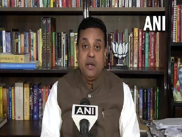 BJP National Spokesperson Sambit Patra speaking to ANI in New Delhi on Wednesday. [Photo/ANI]