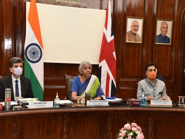 Union Minister attends 11th UK-India Economic and Financial Dialogue Credits [Twitter @FinMinIndia]