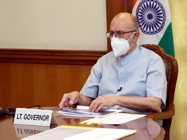 Delhi LG Anil Baijal chairs 5th meeting of Apex Committee to oversee, facilitate redevelopment of New Delhi Railway Station, on Friday. [Photo/ANI]