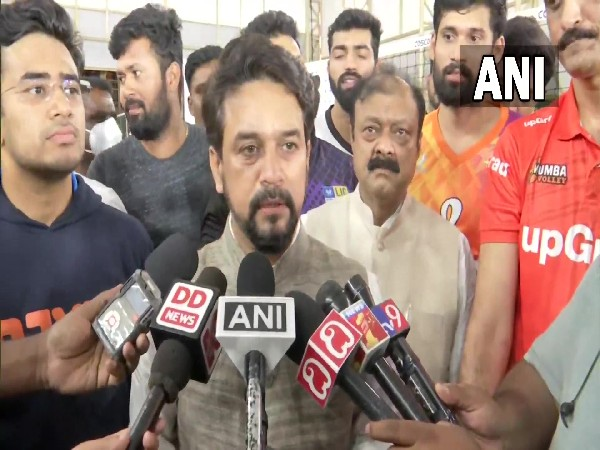 Union Minister for Youth Affairs and Sports Anurag Thakur (Photo/ANI)
