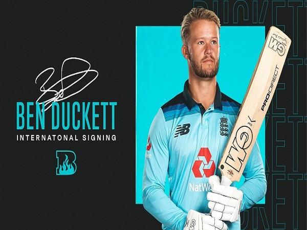 Ben Duckett (Image: Brisbane Heat)