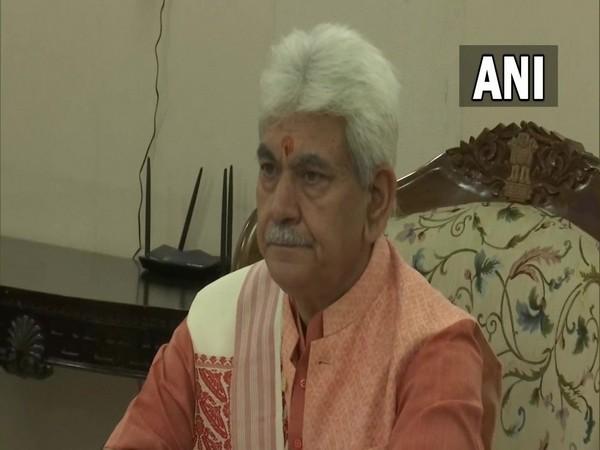 J-K Lieutenant Governor Manoj Sinha (Photo/ANI)