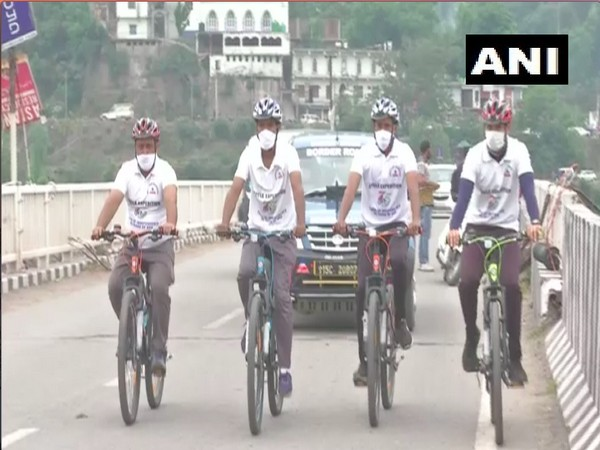 BRO organised a cycle expedition in J-K