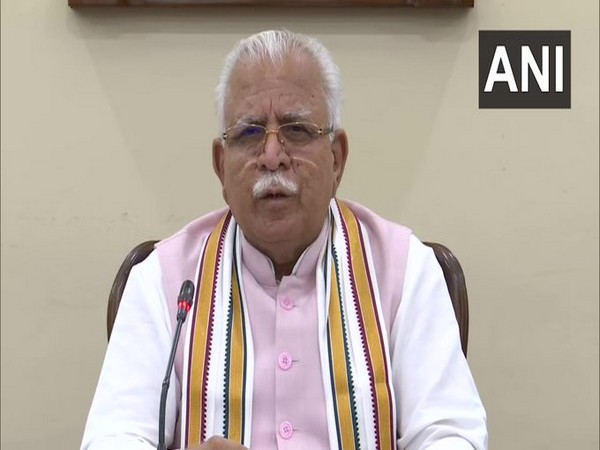 Chief Minister Manohar Lal Khattar. (File photo)