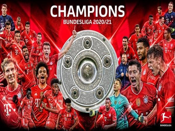 Bayern Munich win ninth successive Bundesliga title (Photo/ Bundesliga Twitter)
