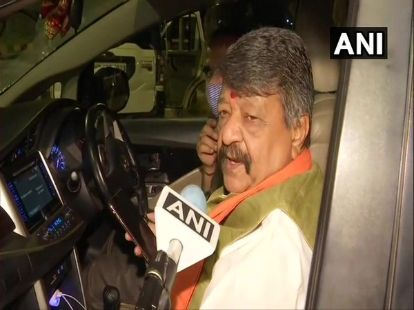 BJP leader Kailash Vijayvargiya speaking to ANI on Saturday