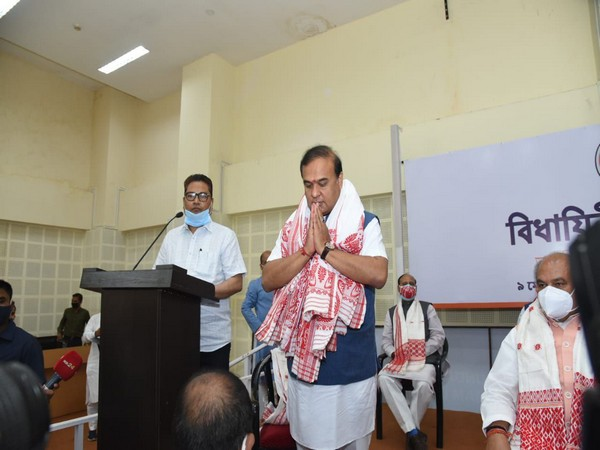 Himanta Biswa Sarma was elected as the leader of its legislative party in Assam on Sunday in Guwahati.