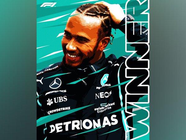 Lewis Hamilton wins Spanish Grand Prix (Photo/ Formula 1 Twitter)