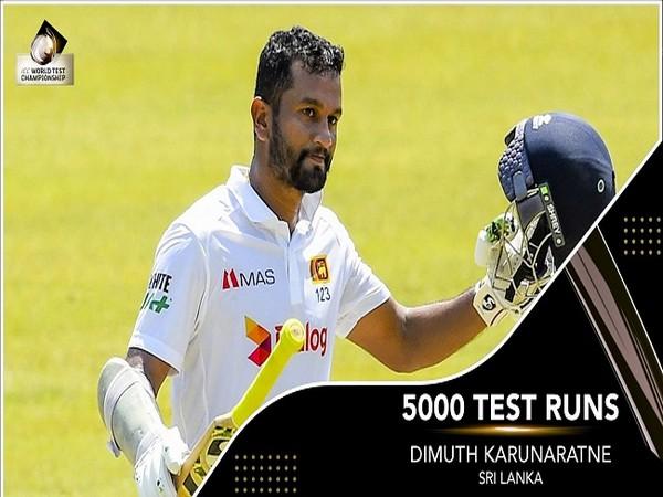 Sri Lanka skipper Dimuth Karunaratne (Image: ICC)
