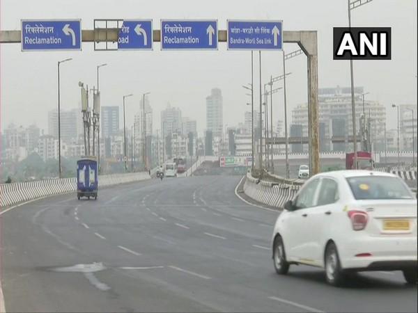 Visual from Bandra in Mumbai on Friday. [Photo/ANI]