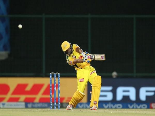 Ambati Rayudu in action against MI (Photo/ IPL Twitter)