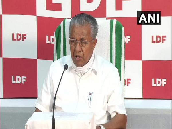 Kerala Chief Minister Pinarayi Vijayan (Photo/ANI)