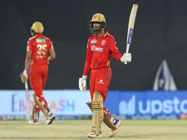 Punjab Kings' batsman Mayank Agarwal (Photo/ IPL Twitter)