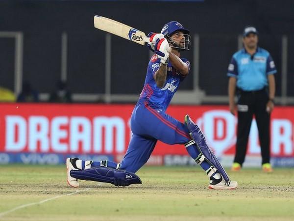 Delhi Capitals' batsman Shikhar Dhawan (Photo/ IPL Twitter)