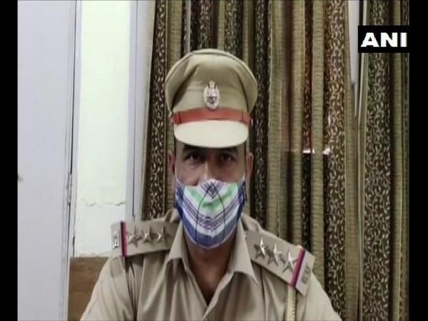 Vijay Kumar, city police station incharge speaking to ANI. (Photo/ANI)