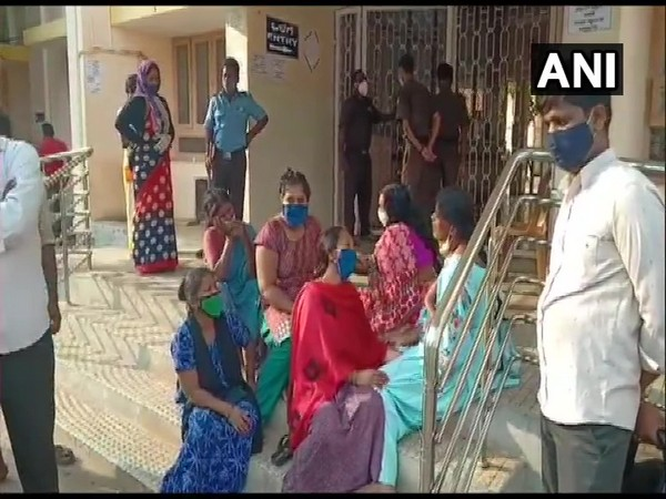 Visual from outside the hospital. (Photo/ANI)