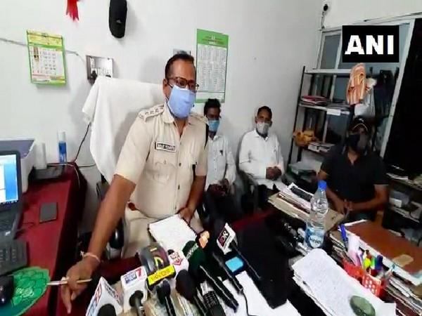 Sub Divisional Police Officer (SDPO) Sanjaya Mohapatra (Photo/ANI)