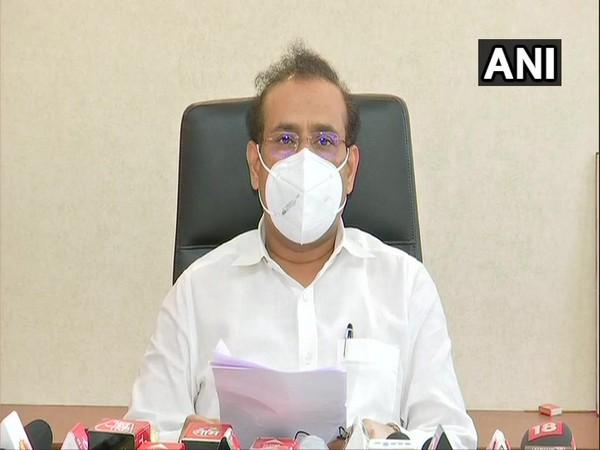 Maharashtra Health Minister Rajesh Tope (File Photo/ANI)