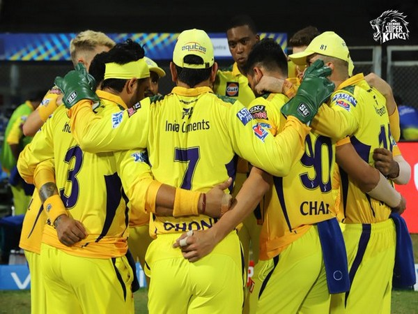 CSK will play MI in the opening game of the UAE leg. (Photo/ CSK twitter)