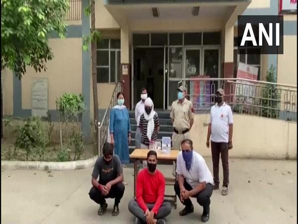 Four including one nurse were arrested for black marketing Remdesivir. (Photo/ANI)