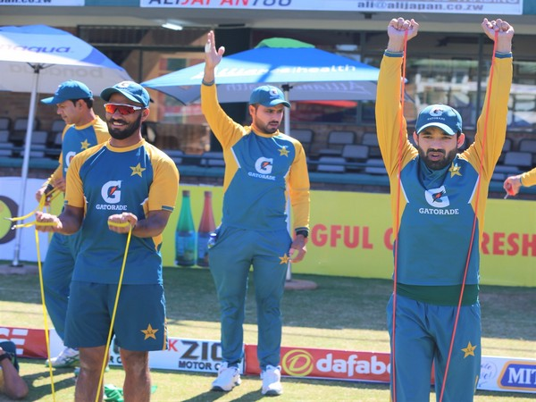 Pakistan cricket team players.