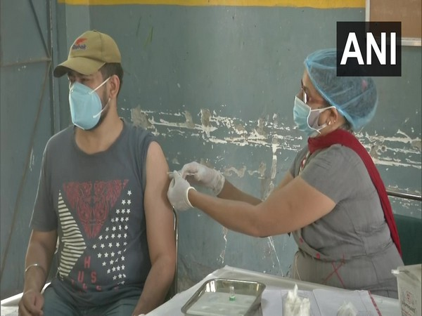 Visuals from the vaccination centre (Photo/ANI)