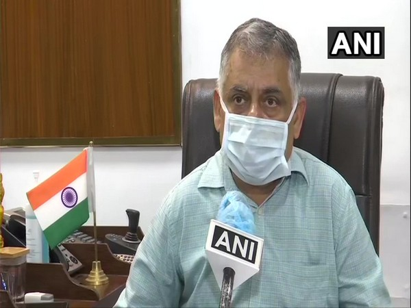 Dr. Rana AK Singh, Director and Medical Superintendent of Delhi's RML Hospital speaking to ANI in Delhi on Thursday. [Photo/ANI]
